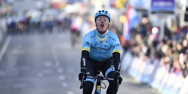 Michael Valgren remporte le Circuit Het Nieuwsblad, Vanmarcke, premier Belge, est troisième - La Libre