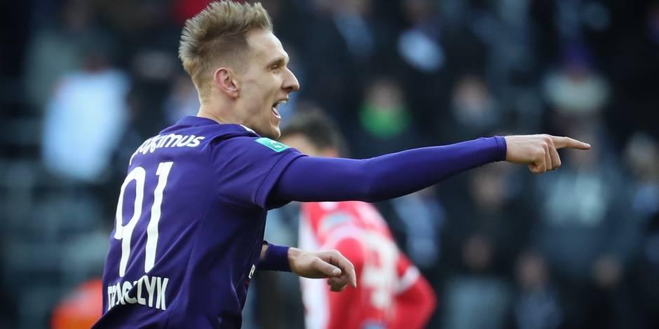 Teodorczyck et Anderlecht se rassurent, pas la défense (5-3)