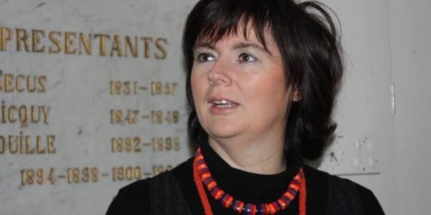Cécile Dascotte claque la porte du CDH athois - La Libre