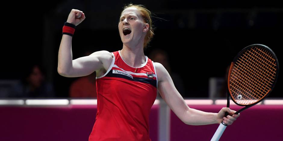Alison Van Uytvanck (WTA-80) remporte le tournoi de Budapest