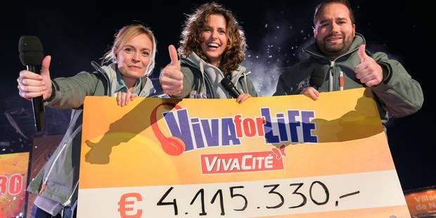 Viva for Life reviendra à Nivelles au mois de décembre - La Libre