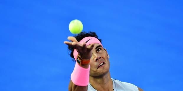 """Rafael Nadal signe son retour mais va soigner son programme: """"Mon moteur, c'est l'envie de gagner"""" - La Libre"""