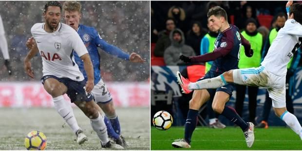 Belges à l'étranger: Dembele et Tottenham filent en quarts de la FA Cup, Meunier et le PSG corrigent l'OM en Coupe de Fr...