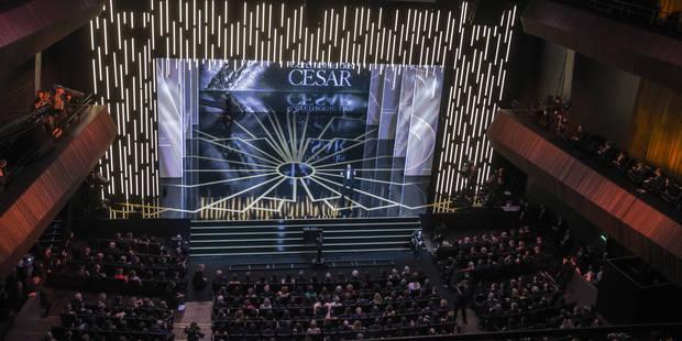 """Opération """"Ruban blanc"""" à la cérémonie des César, contre les violences envers les femmes - La Libre"""