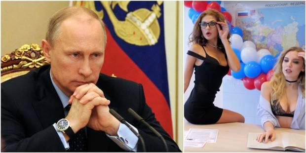 La Vidéos Appeler Photos Sexy Pour Voter Les Libre Et Des Russes À Nn80vmw