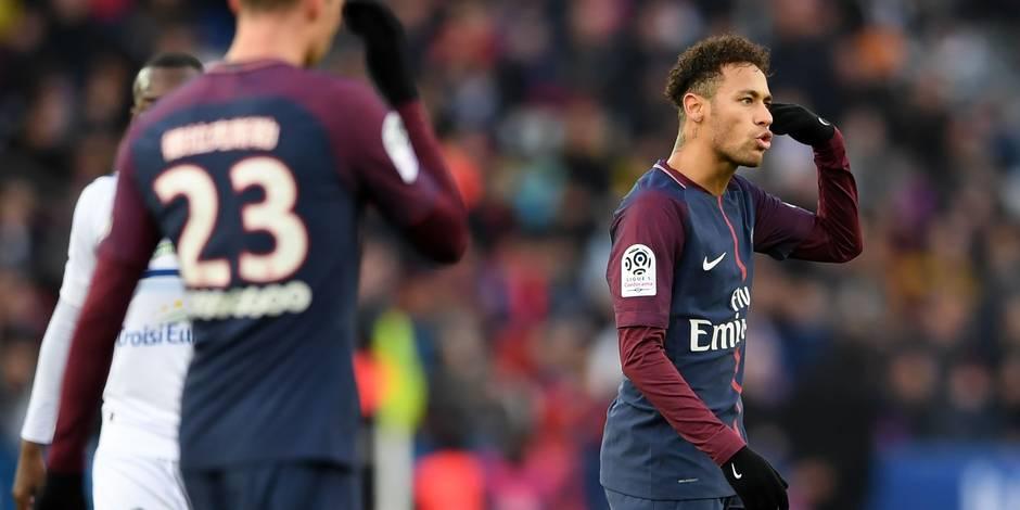 Après Neymar, le PSG pourrait être privé d'un deuxième joueur