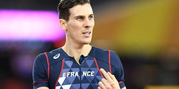 L'athlète français Pierre-Ambroise Bosse mis en examen pour violences après une altercation - La Libre