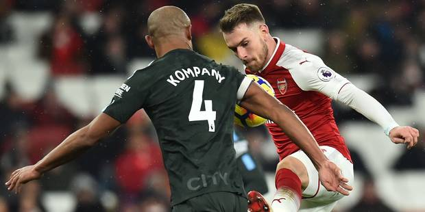 Les Belges à l'étrange: Kompany, De Bruyne et Manchester City corrigent une nouvelle fois Arsenal - La Libre