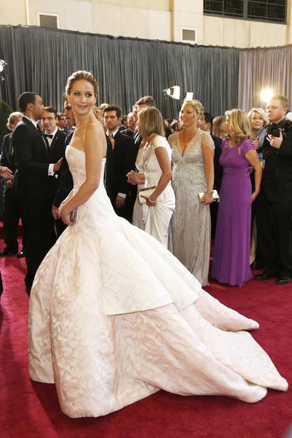 Jennifer Lawrence, superbe égérie                             Dior en 2013, l'année de la consécration