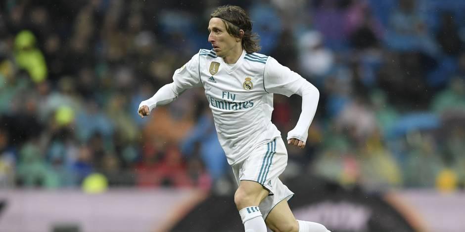Real Madrid: Modric inculpé de faux témoignage en Croatie
