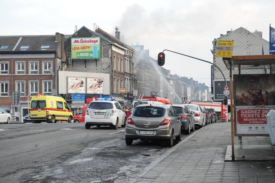 Une maison explose à Liège — Liège
