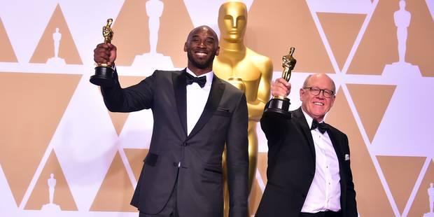 Kobe Bryant, premier sportif professionnel à remporter un Oscar - La Libre