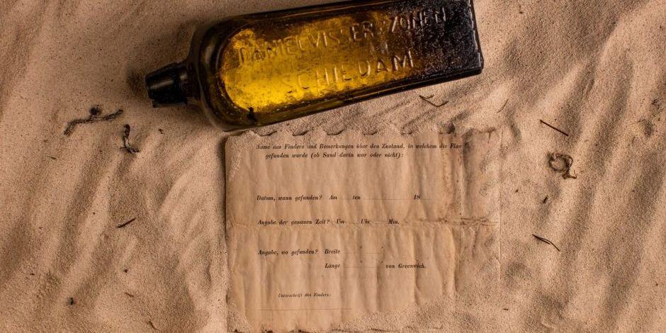 Une bouteille à la mer vieille de 132 ans retrouvée en Australie