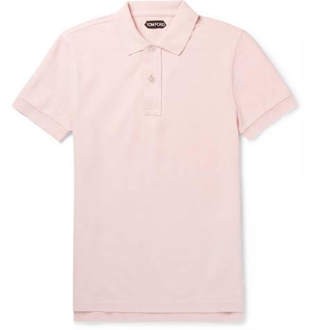 Tom Ford, Cotton-Piqué Polo Shirt,     245 euros.