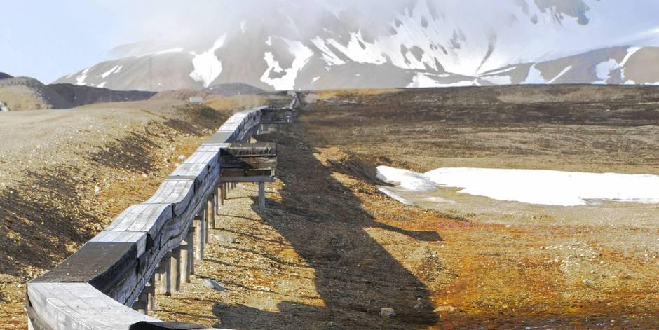 Le sous-sol de l'Arctique gavé de mercure