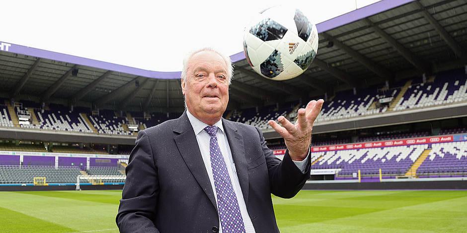 """Roger Vanden Stock donne sa dernière interview en tant que président du RSCA: """"Bonne chance avec mon club !"""" - La Libre"""