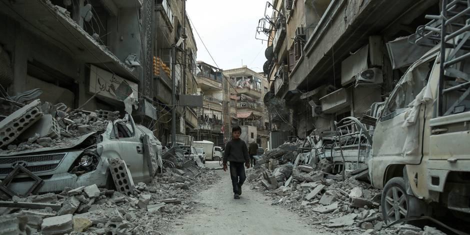 Un convoi d'aide alimentaire est entré dans la Ghouta — Syrie