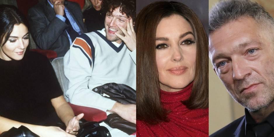 Monica Bellucci et Vincent Cassel en 1995. Ils se sont rencontrés sur le tournage du film L'Appartement. Après 14 ans de mariage, le couple a annoncé sa rupture en 2013.