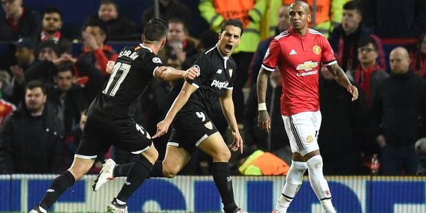 Ligue des champions: Manchester, Lukaku et Fellaini éliminés par Séville (1-2) ; La Roma et Nainggolan battent le Shakht...