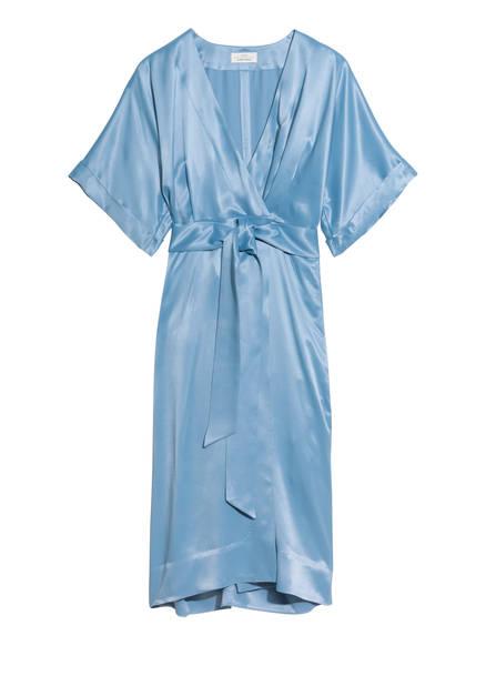 Silk wrap dress - 99€