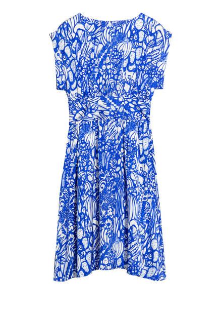Blue print dress - 89€