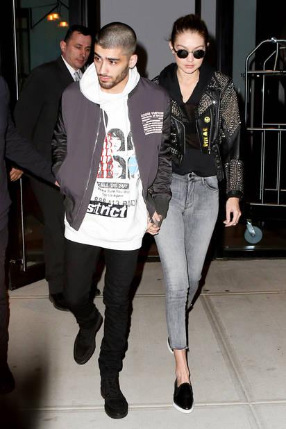 En février 2016, le couple fait son premier shooting commun pour                Vogue.