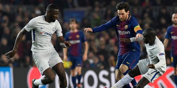 Ligue des Champions: grâce à Messi, le Barça écarte Chelsea et file en quart de finale (3-0) - La Libre