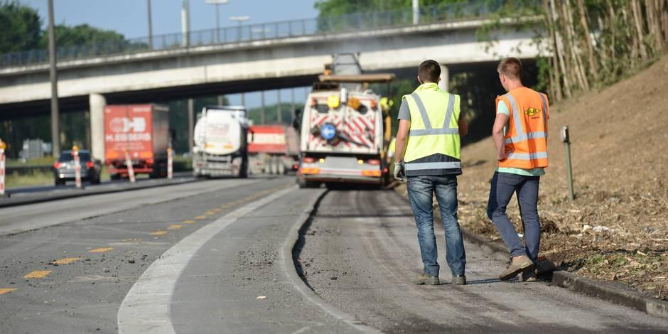 Les chantiers autoroutiers wallons ne respectent pas toujours la législation