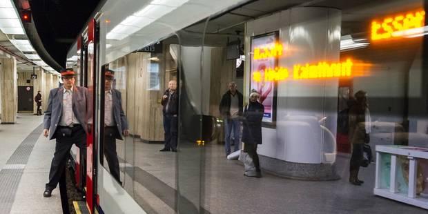 Un homme vraisemblablement ivre heurté par un train à Bruxelles-Central - La Libre