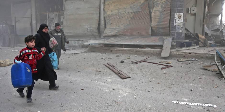 Guerre en Syrie : le conflit entre dans sa huitième année