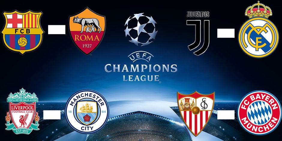 Juve-Real et Liverpool-City en quarts de finale de Ligue des Champions