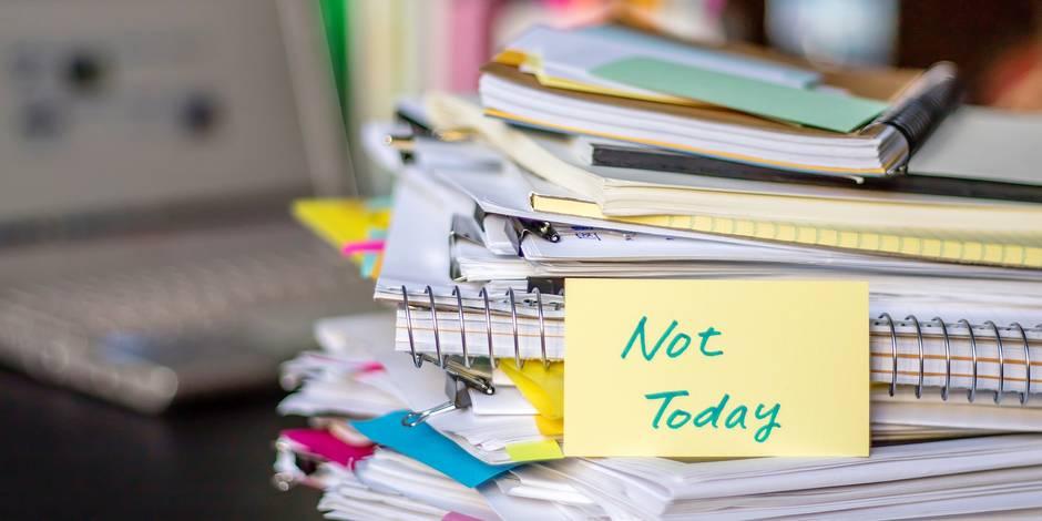 La phobie administrative n'est-elle qu'une pâle excuse ? (RIPOSTES) - La Libre