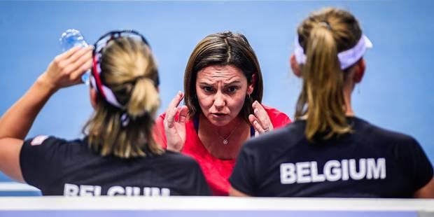 Dominique Monami n'est plus la capitaine de l'équipe belge de Fed Cup - La Libre
