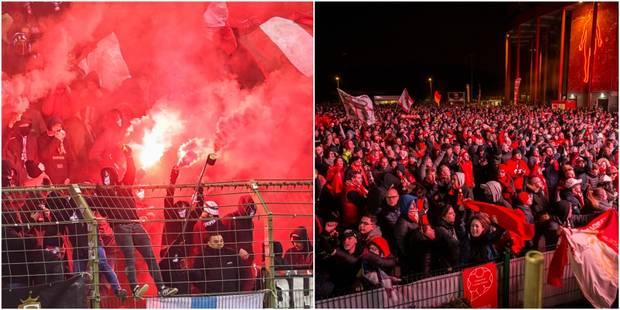 De Bruxelles à Sclessin, les supporters du Standard ont fait la fête (PHOTOS ET VIDEOS) - La Libre