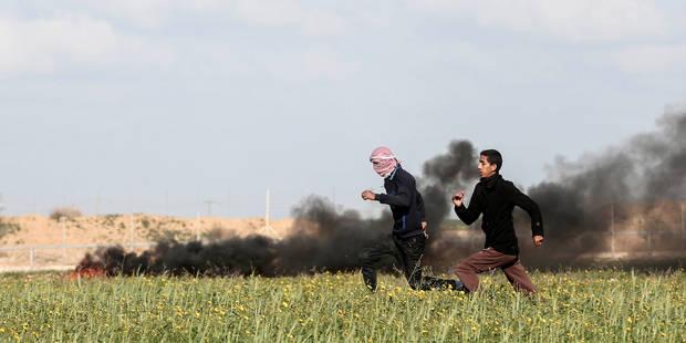 """Israël bombarde des installations """"souterraines"""" du Hamas dans la bande de Gaza - La Libre"""