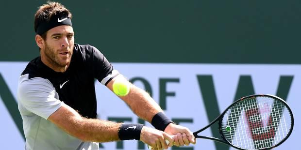 Indian Wells: première défaite en 2018 pour Federer, battu par del Potro (4-6, 7-6 , 6-7) - La Libre