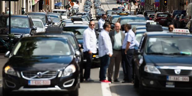 """Manifestation des taximen le 27 mars à Bruxelles: """"On va mettre le feu à Schuman"""" - La Libre"""