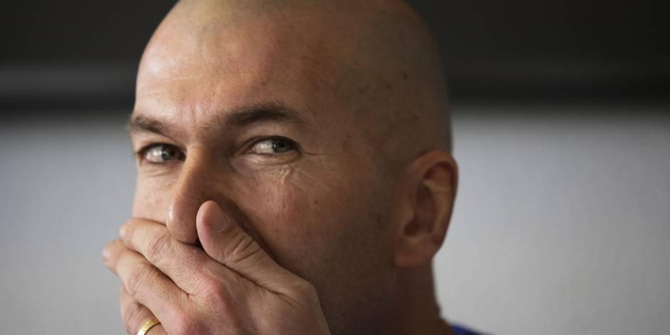 Zidane a supervisé son fils contre les USA — Real Madrid
