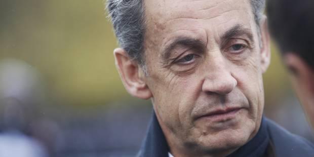 """Nicolas Sarkozy vit """"l'enfer de cette calomnie"""" et invoque l'absence de """"preuve matérielle"""" - La Libre"""