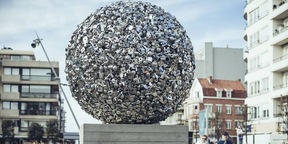 De Knokke à La Panne, Beaufort souffle le vent de l'art - La Libre