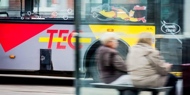 Neuf passagers en moyenne dans les bus wallons - La Libre