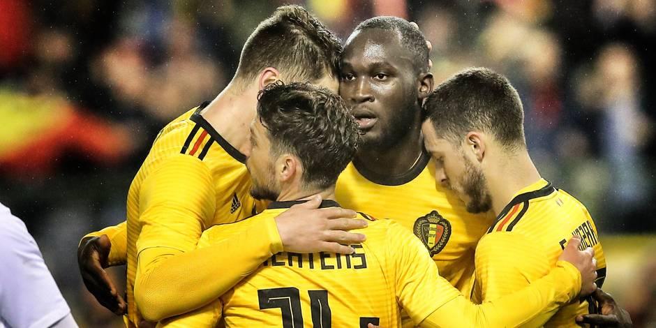 La Belgique gagne deux places au classement FIFA!