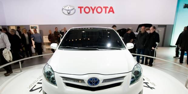 Toyota rappelle près d'1,2 million de voitures dans le monde, dont 8.000 en Belgique - La Libre