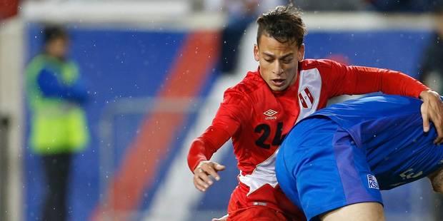 Polémique et rumeurs de boycott autour du joueur de Charleroi Benavente au Pérou - La Libre