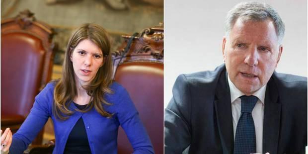 Alain Courtois et Els Ampe tireront une liste bilingue à Bruxelles - La Libre
