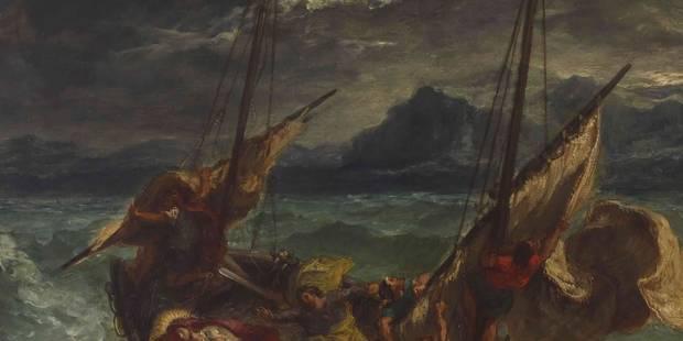 Delacroix majestueux, violent, sensuel, géant - La Libre