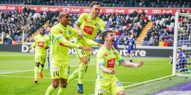 Anderlecht, surpris par La Gantoise (0-2), rate son départ en playoffs I - La Libre
