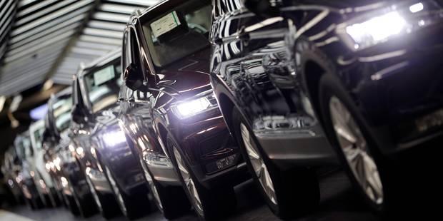 Nouvelle baisse des ventes de voitures neuves - La Libre