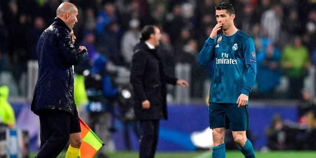 """Zidane: le but de Ronaldo """"peut-être pas aussi beau que le mien à Glasgow"""" (VIDEO) - La Libre"""