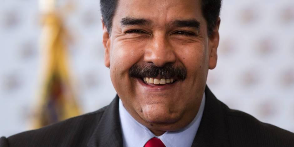 Maduro accuse Macron de